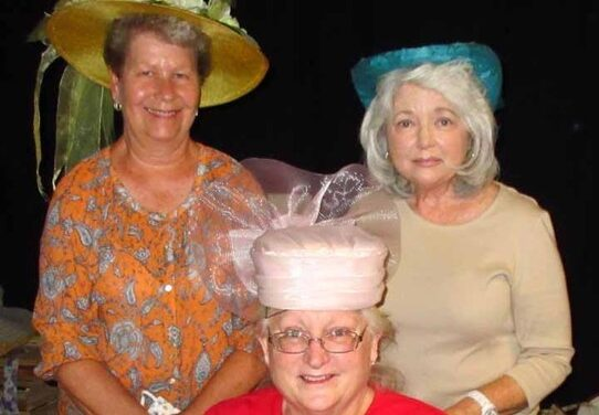 Woman's Club Restores 150 Vintage Hats for Theater Company