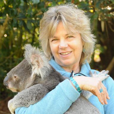 April Orcutt and Koala