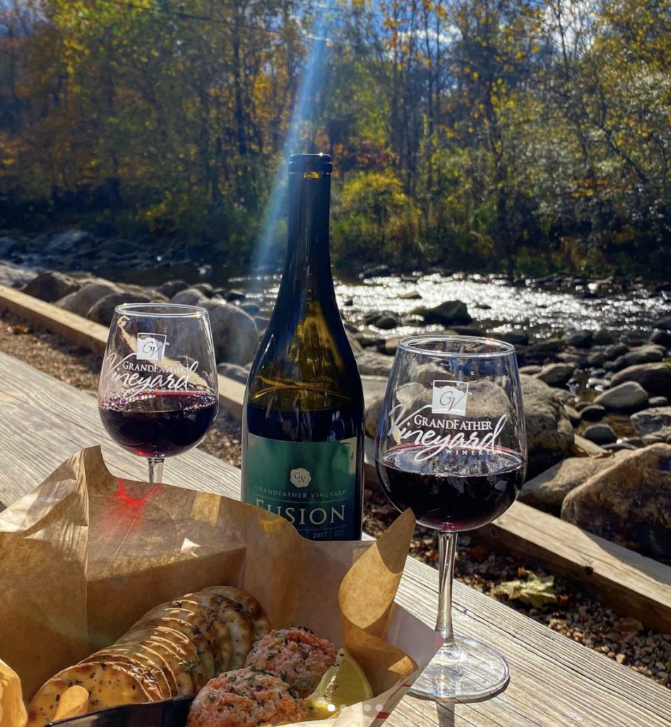 Wineries and Vineyards near Boone: Grandfather Vineyard