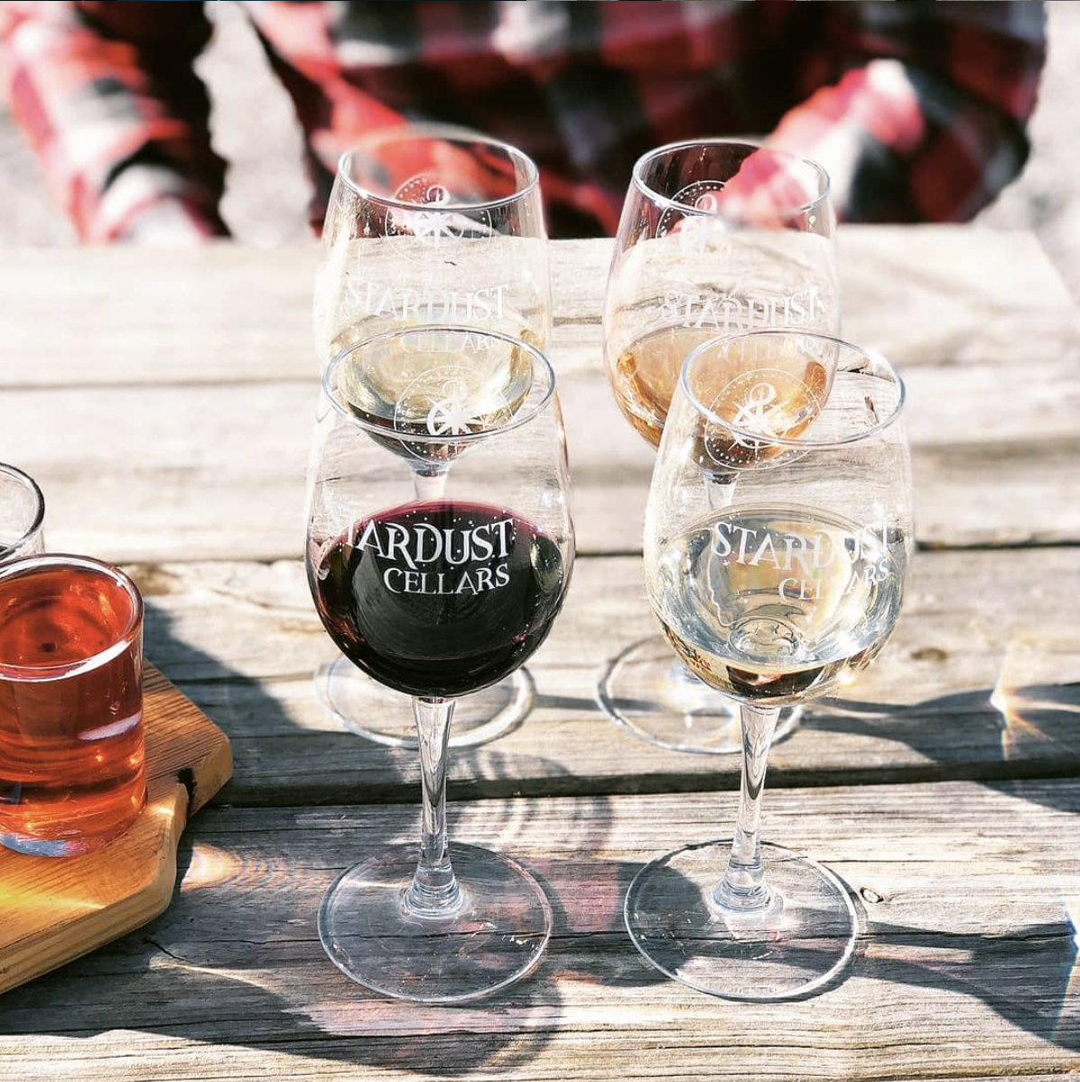 Wineries and Vineyards near Boone: Stardust Cellars & Taproom