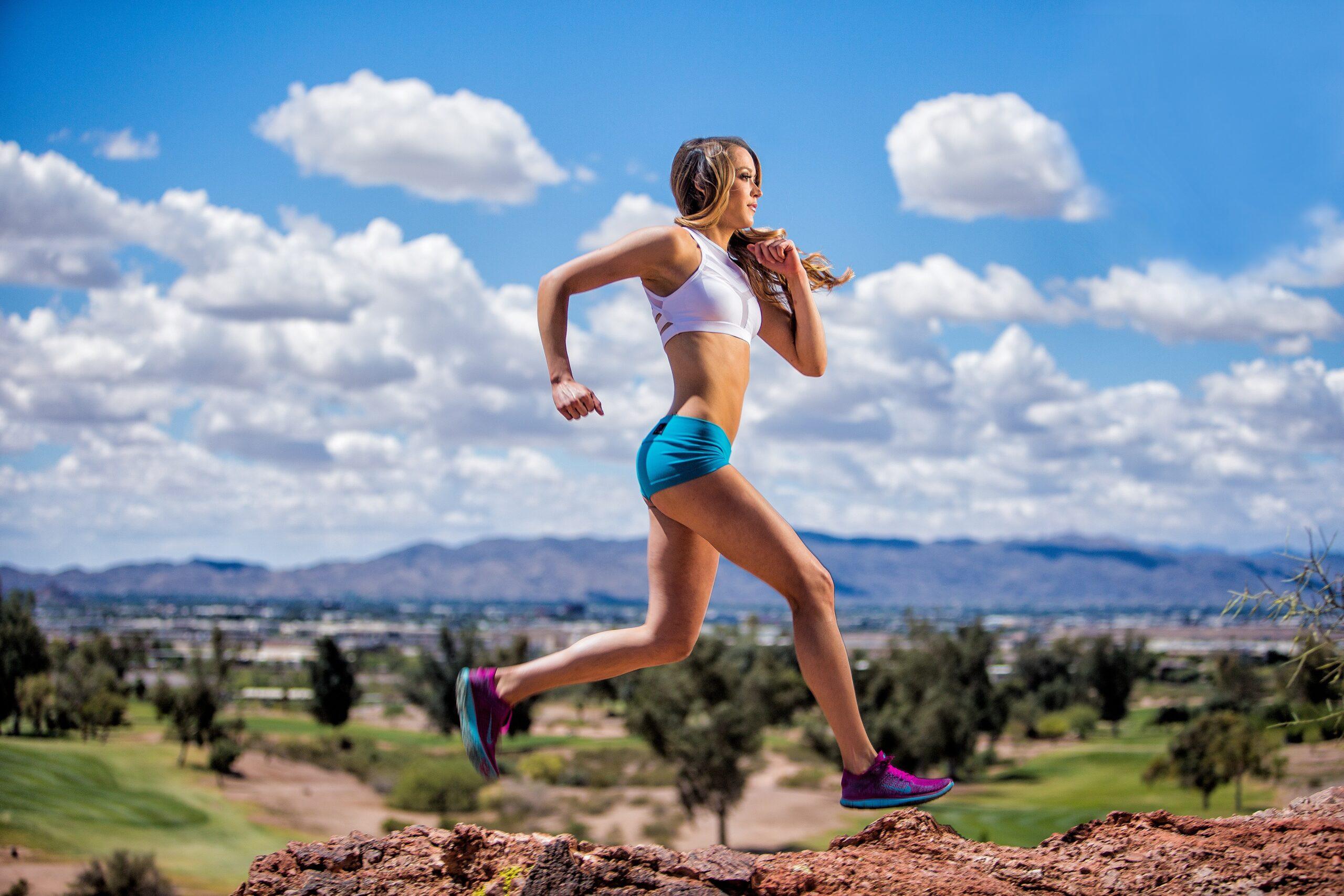 Ashley Azevedo, Fitness
