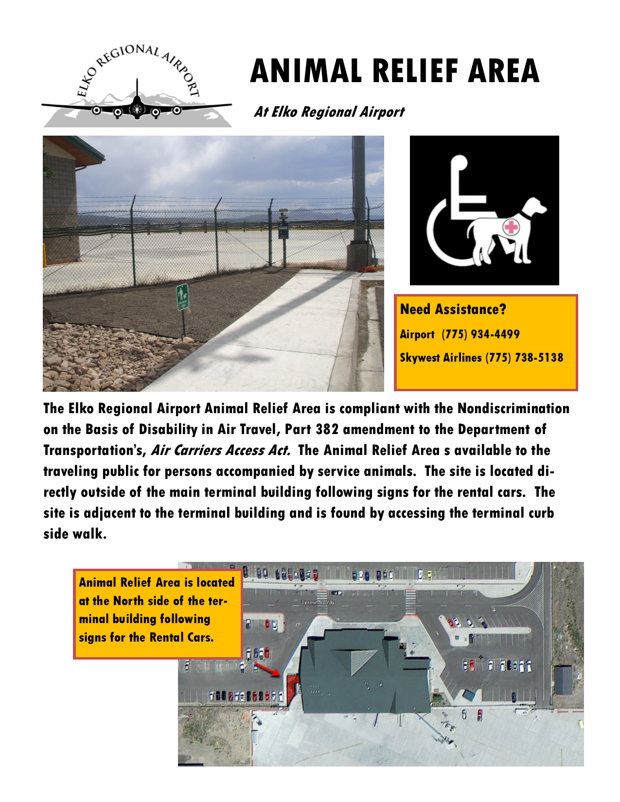 Airport Animal Relief Area