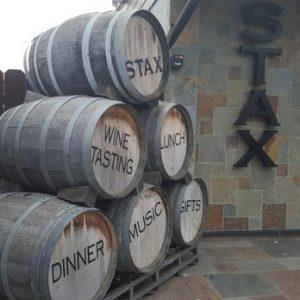 stax wine barrels