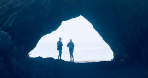 smugglers cave, pirates cove avila beach, ca