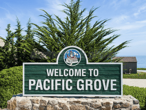 pacific grove sign