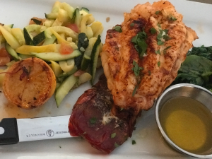 Lobster Tail from Bluewater Grill