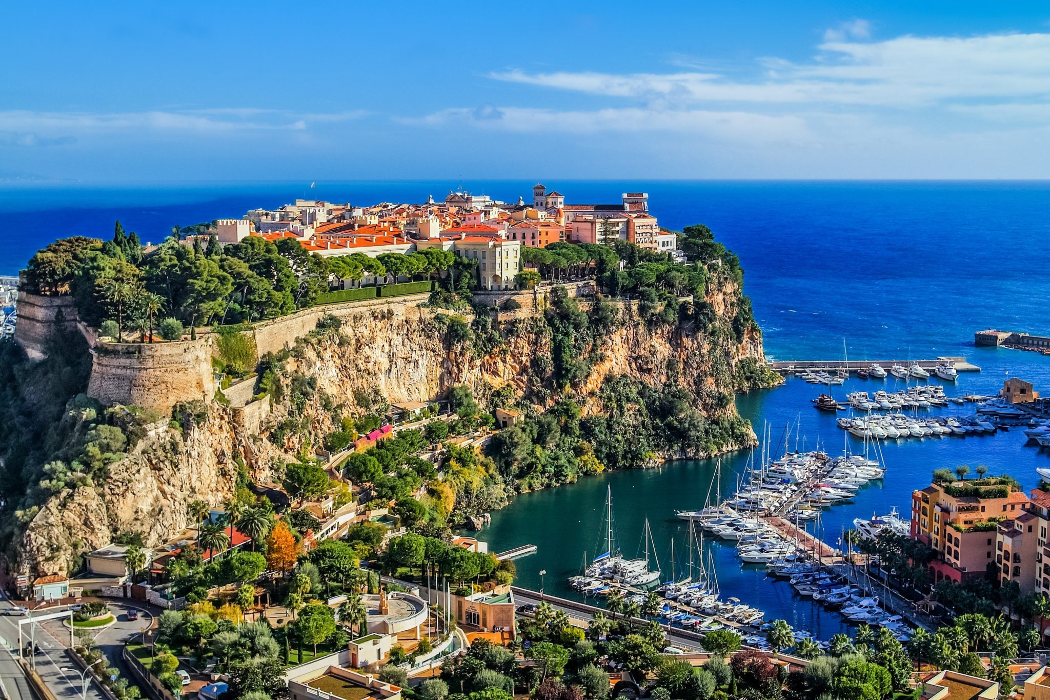 Mediterranean Hillside