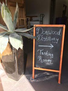 Doorwood Distillery Sign