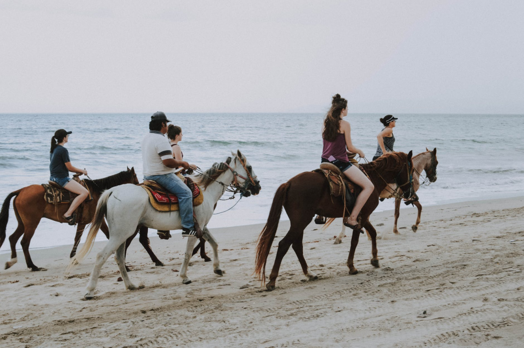 horseback riding at pismo beach