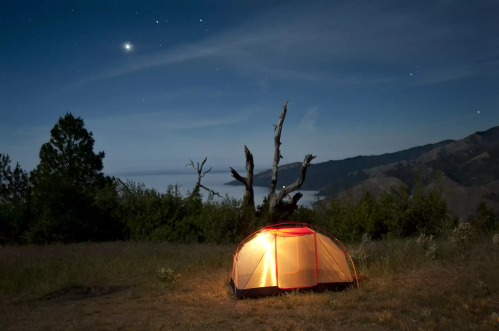 Camping at Los Padres