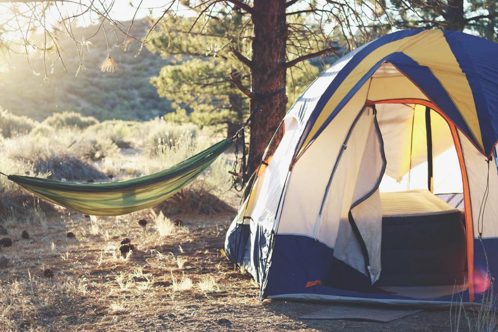 Tent at Los Padres
