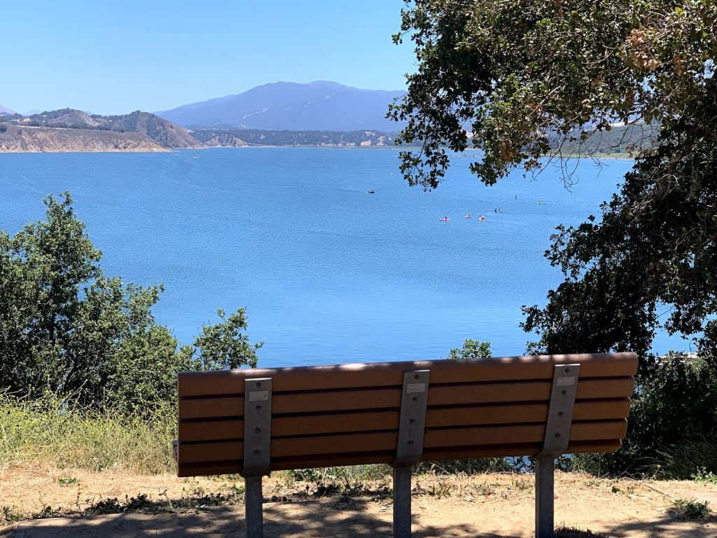 Bench at Lake Cachuma