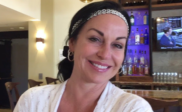 Donna Polizzi at the Marriott