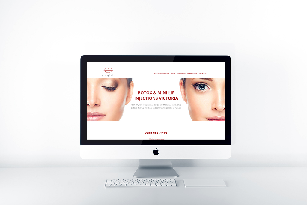 Digtal Marketing Website Mockup