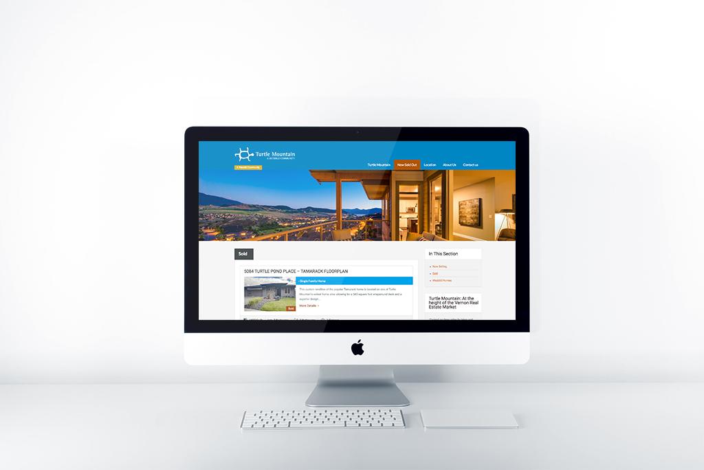 Digital Marketing website mockup
