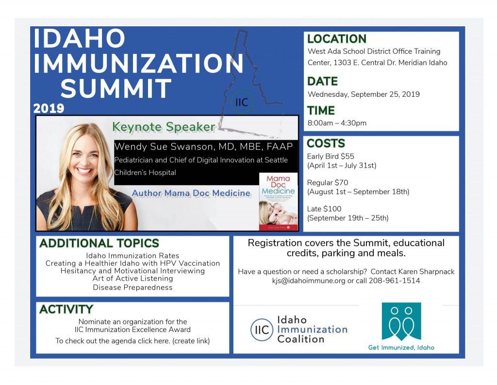 Idaho Immunization Summit 2019