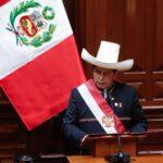 🔴(VÍDEO)Presidente Pedro Castillo dirige mensaje por Fiestas Patrias tras jurar al cargo