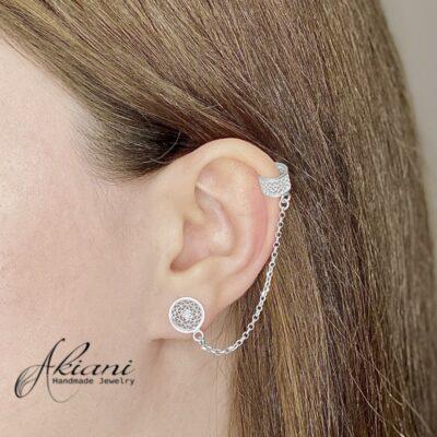 Aubrey Cuff Earrings