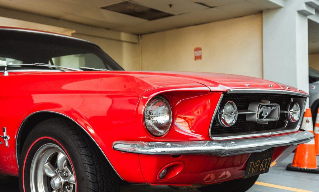Car front end