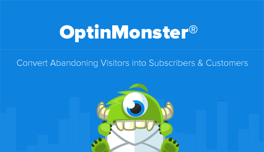 OptinMonster Convert abandoning visitor into subscribers and customers list building tool