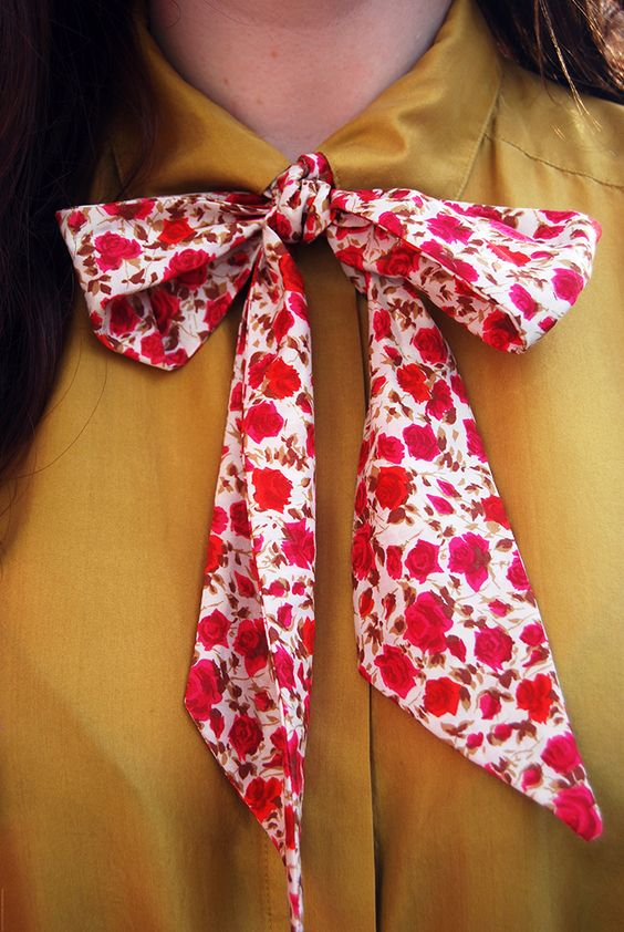 Make your own pussy bow tie | Girlfriend is Better