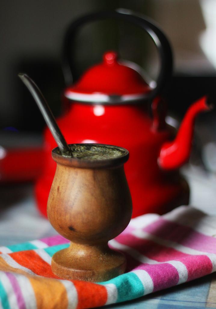 Yerba mate tea in gourd cup   Girlfriend is Better