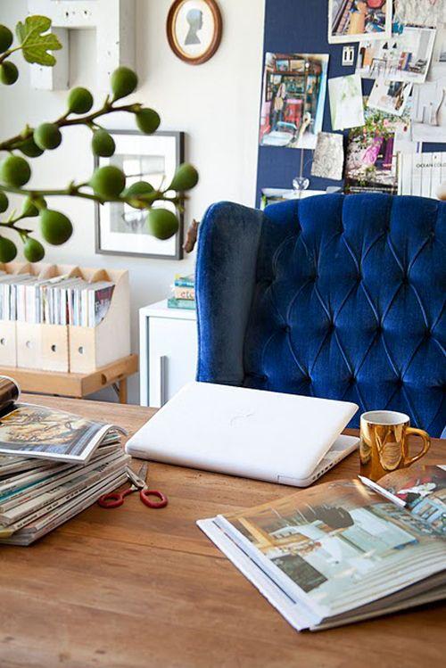 Home office in knowledge + wisdom center | Feng Shui guide | Girlfriend is Better