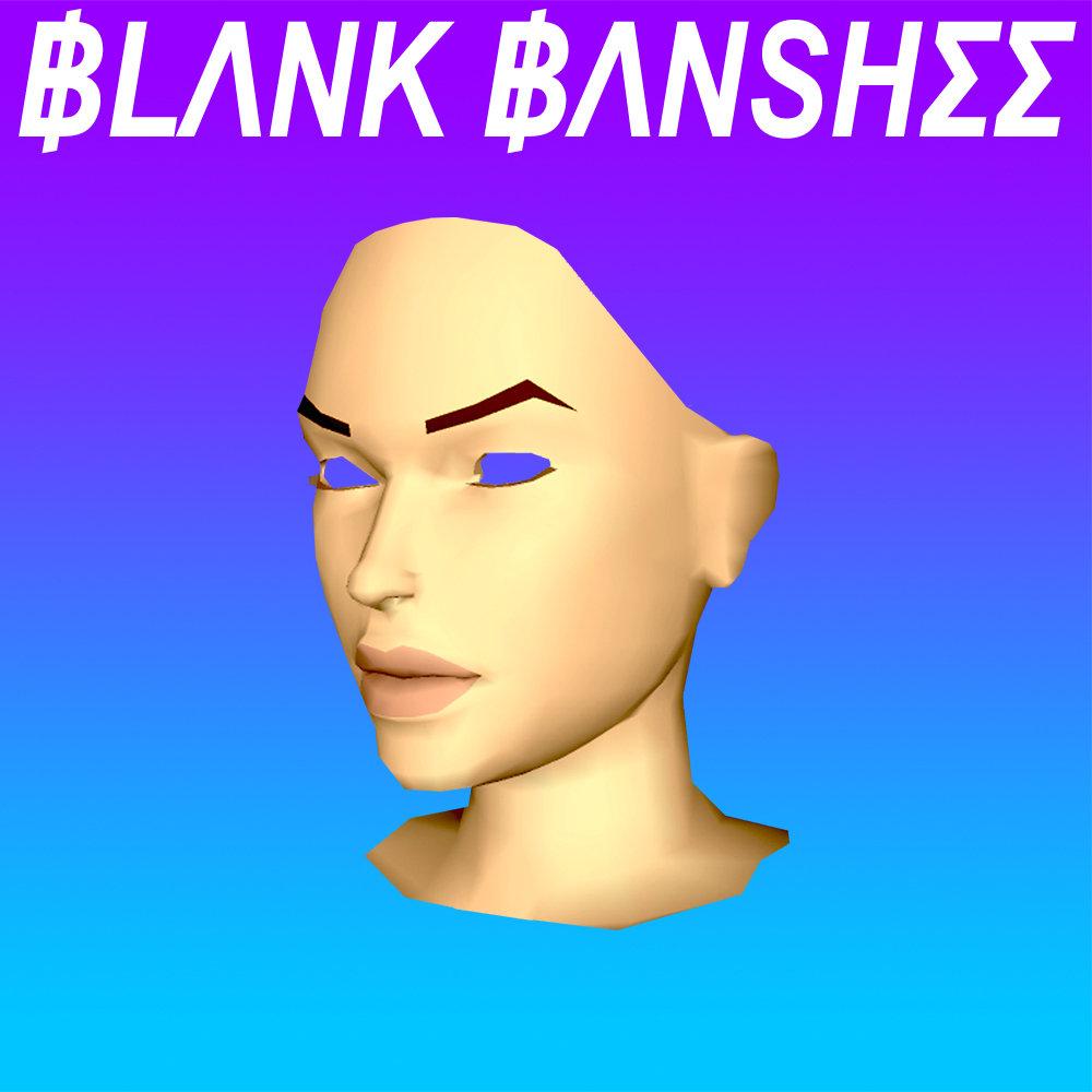 Vaporwave album cover | Blank Banshee 0 | Girlfriend is Better