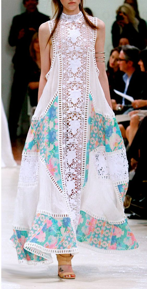 Zimmerman crochet maxi dress   Girlfriend is Better