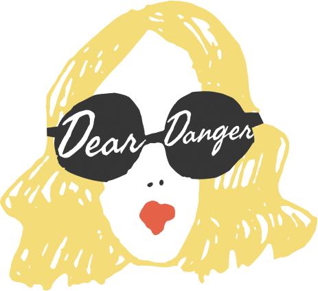 Dear Danger mobile boutique logo | Girlfriend is Better