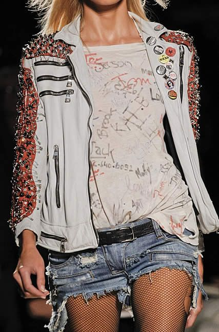 Pins, zippers + safety pins   Embellished jackets   Girlfriend is Better