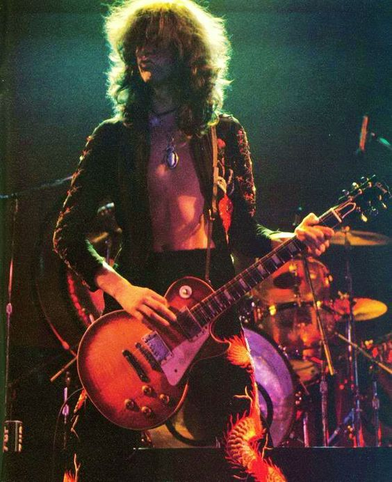 Jimmy Page Led Zeppelin festival fashion mentor | Girlfriend is Better