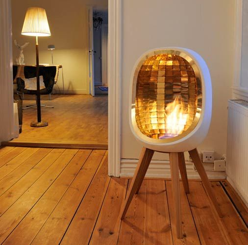 Indoor fireplace idea | Feng Shui tips | Girlfriend is Better