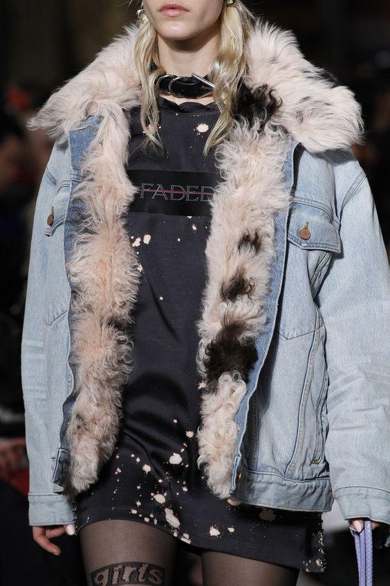 Alexander Wang fur-lined coats   Girlfriend is Better