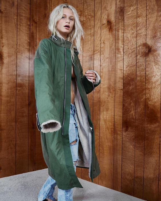 Over-sized rain coat   Fur-lined coats   Girlfriend is Better