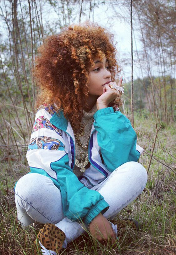 Vintage track jackets   80's hip-hop fashion   Girlfriend is Better