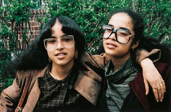 Jamel Shabazz photographer   Cazal glasses 80's hip-hop fashion   Girlfriend is Better