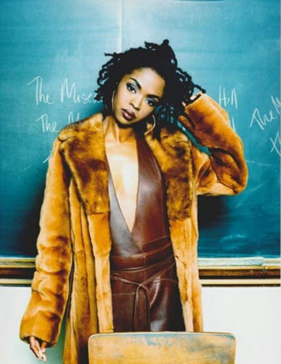 Lauryn Hill shows natural beauty is part of 90's hip-hop fashion   Girlfriend is Better