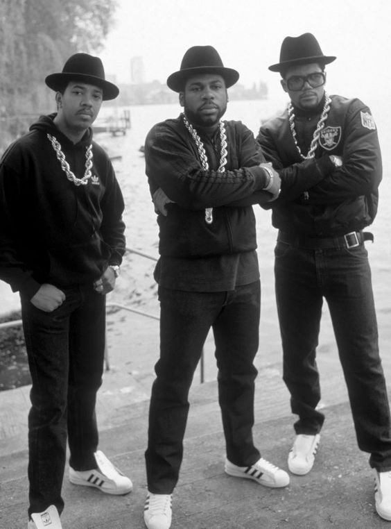 Run-DMC the ultimate hip-hop fashion inspiration from the 80's   Girlfriend is Better