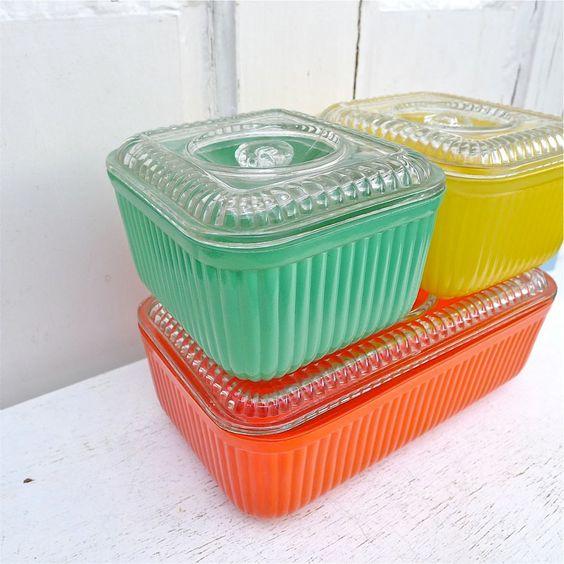 Vintage Pyrex storage set   Jambalaya recipe perfect for leftovers   Girlfriend is Better