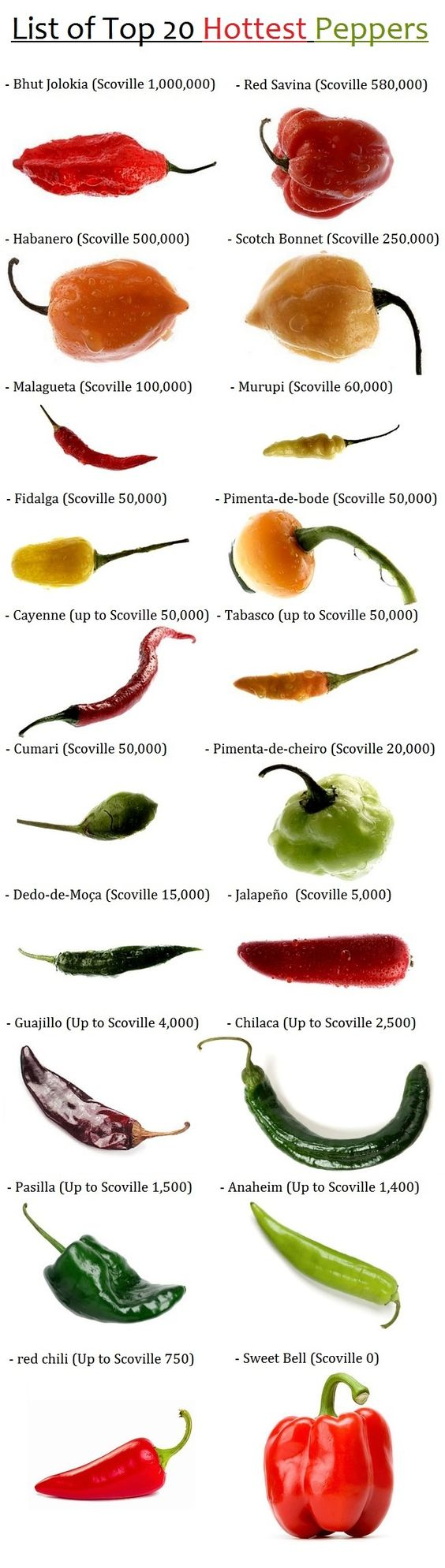 Top 20 hottest peppers   Ghost peppers in healthy jambalaya recipe   Girlfriend is Better