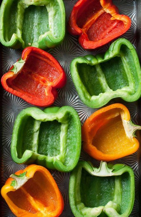 Mixed bell peppers   Healthy jambalaya recipe   Girlfriend is Better