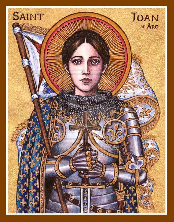 Joan of Arc as an inspiration to women   Girlfriend is Better