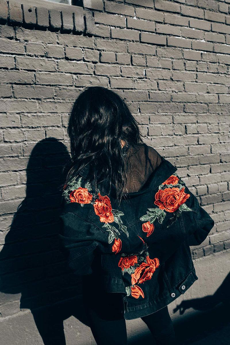 LF Embroidery Lookbook   La Jolla Gaslamp District shopping   Girlfriend is Better