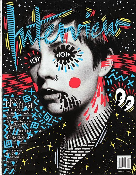 Magazine Cover Art | Hattie Stewart | Girlfriend is Better