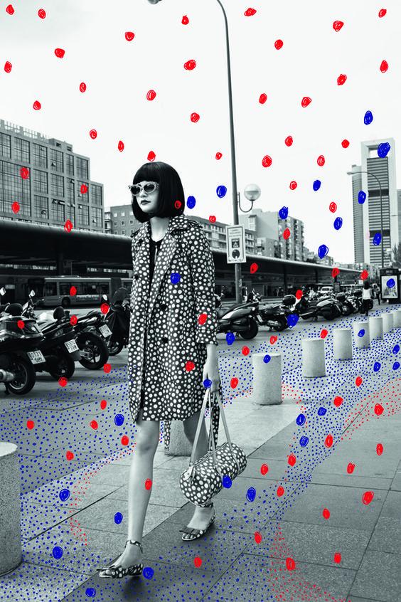 Magazine Cover Art | Yayoi Kusama | Girlfriend is Better
