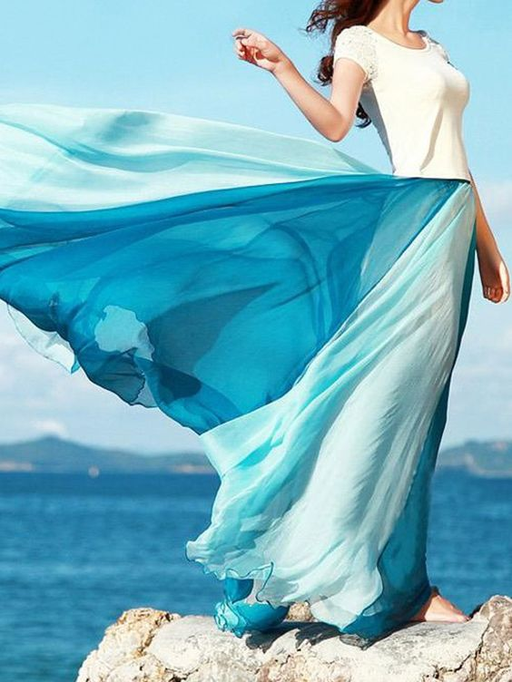 A study on maxi skirts   Long, flowing, and breezy   Girlfriend is Better
