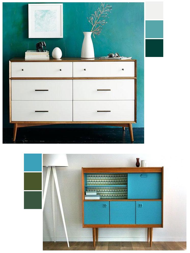 Painted furniture IDY ideas   Mid-century modern   Girlfriend is Better