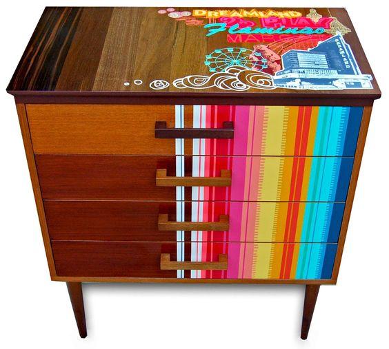 """Painted furniture   Zoe Murphy   Girlfriend is Better"