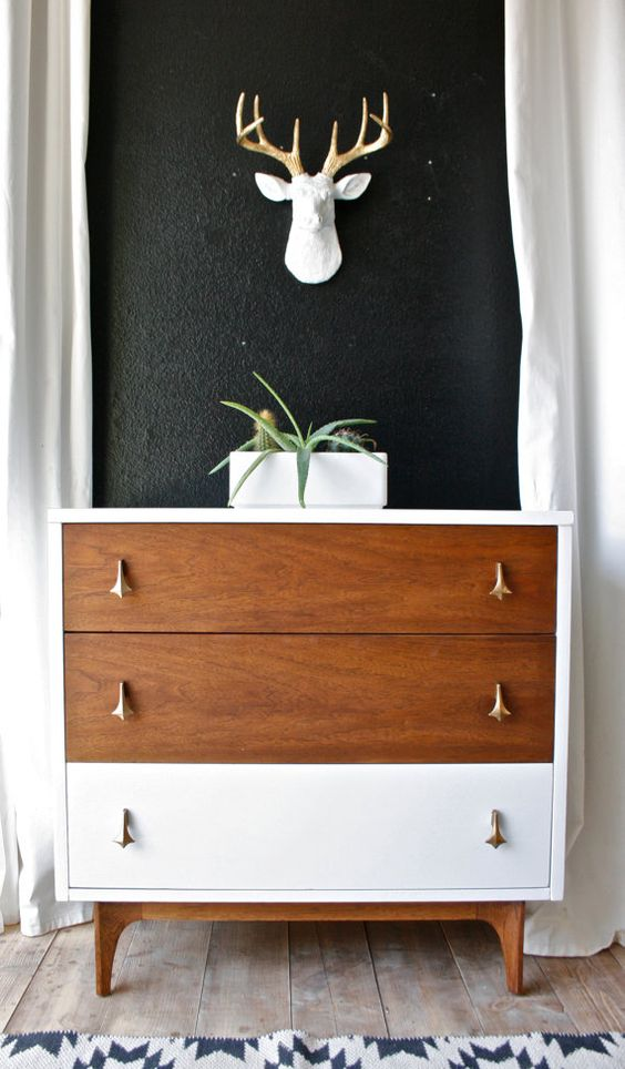 Broyhill Brasilia chest of drawers   Painted furniture ideas   Girlfriend is Better